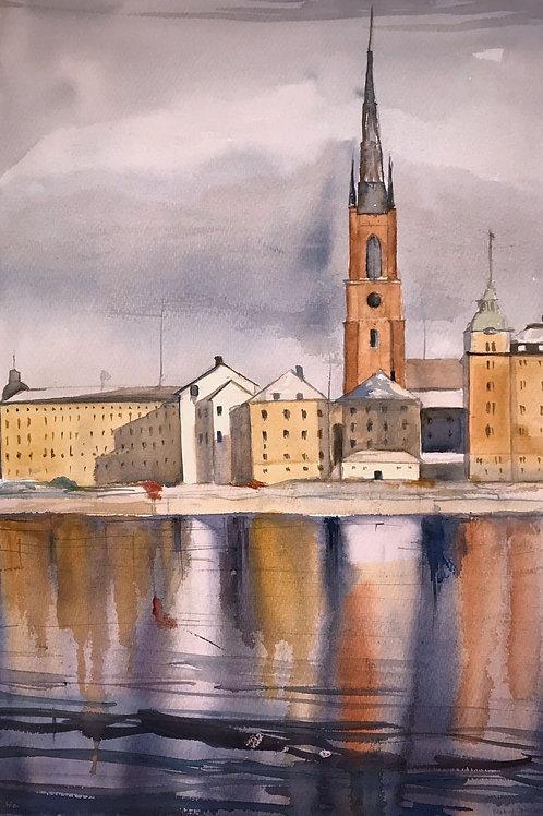 Livet (Riddarholmen) - 50x70 cm