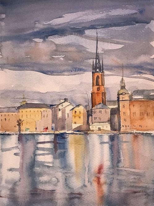 Stunden (Riddarholmen) - 40x50 cm