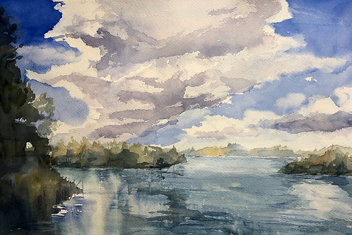En sjö på landet