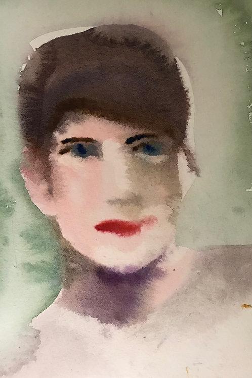 Porträtt av en kvinna