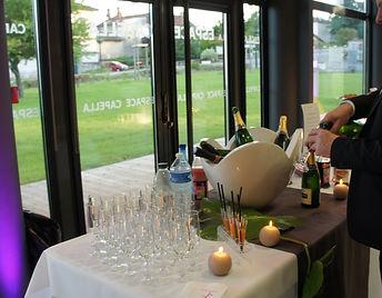 présentation design bouteilles cocktail