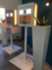 Selfie box location Nacarat Events Bourg