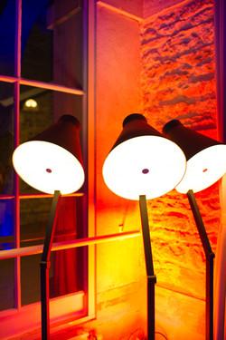 lampe noire design location