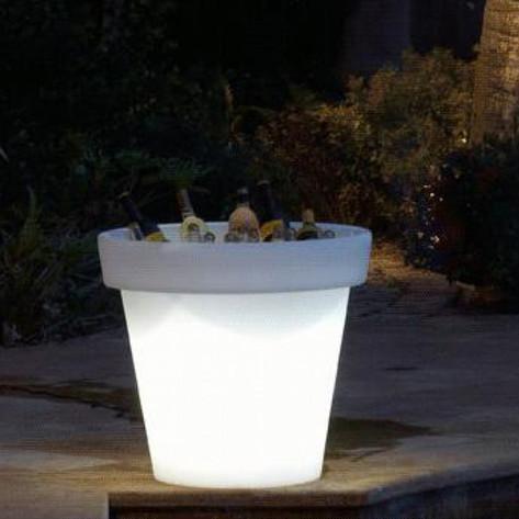 Un bar dans un pot lumineux