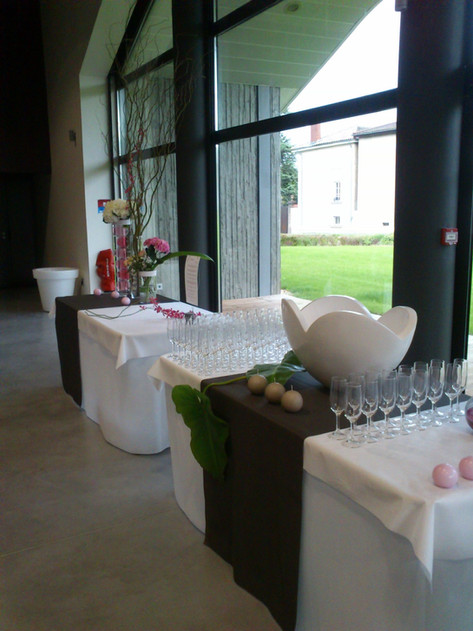Coupe mistral, buffet mariage