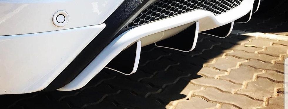 Ford Fiesta ST Diffuser Fins
