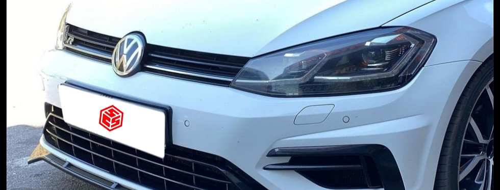 Golf 7 MD 3 Piece Front Lip