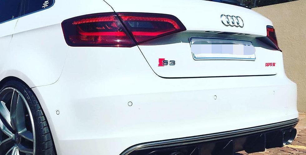 Audi S3 Diffuser Fins