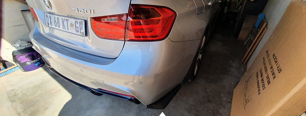 F30 Rear Diffuser Side Spats