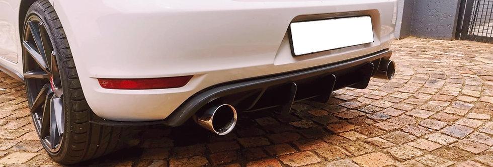 Golf 6 GTI Rear Diffuser