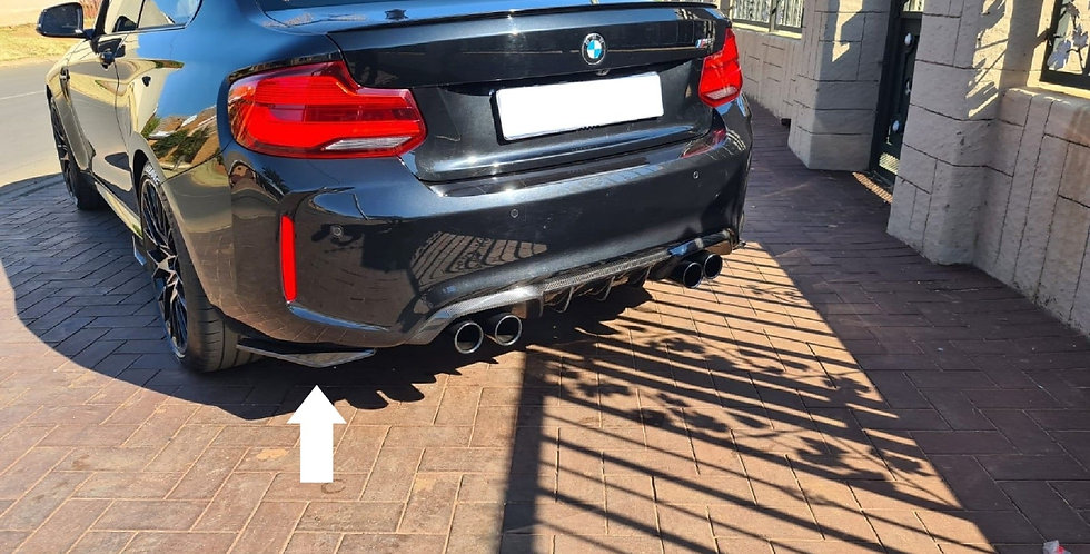 M2 Rear Diffuser Side Spats