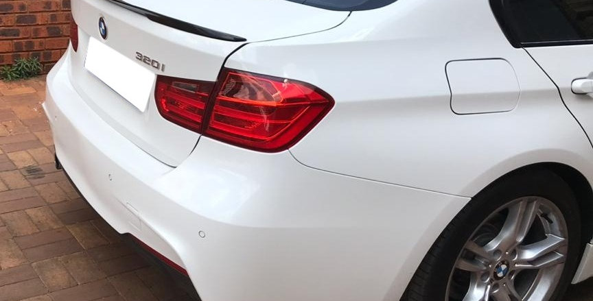 BMW F30 Slimline Rear Lip