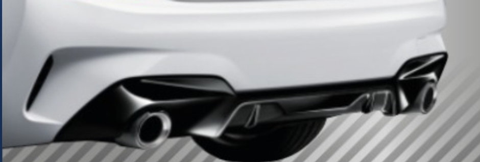 BMW G20 Diffuser