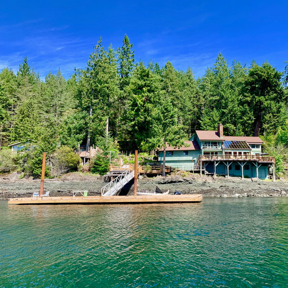 The Aerie Beach House, Quadra Island