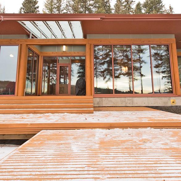 Lake House, Northern BC