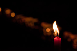 Candle for A Light into Dusk