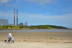 Keeping safe on Sandymount Strand
