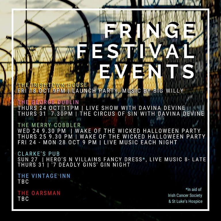 Fringe Festival Events