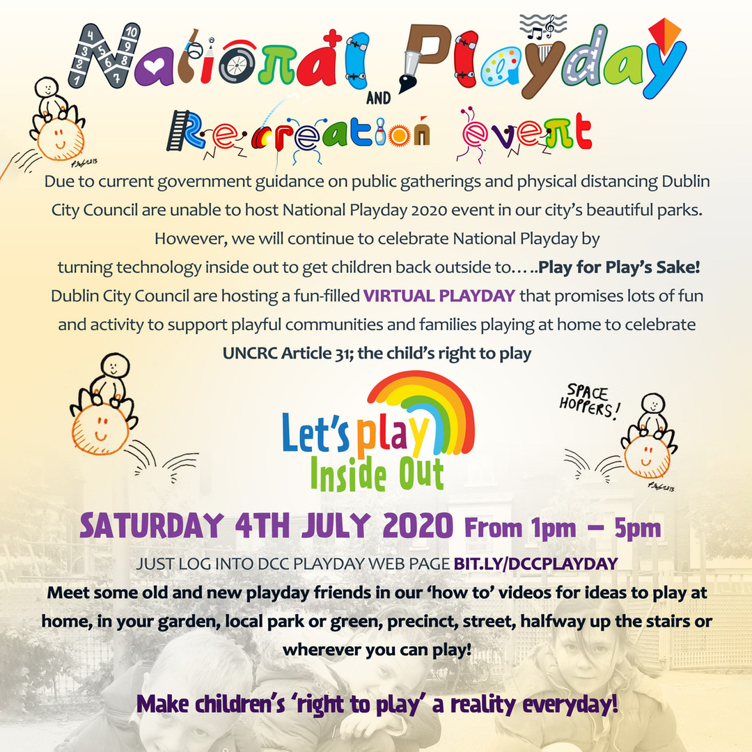 National Play Day Event