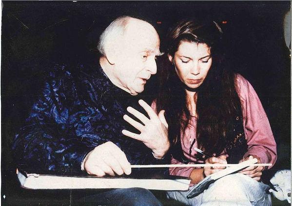 Yehudi Menuhin and Helen Grange