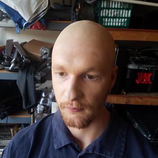 """Intrusions"" film The Bald Man"