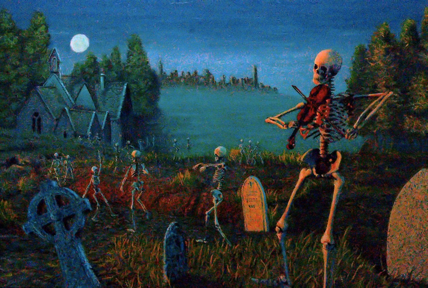 Danse Macabre (after Saint-Seans)