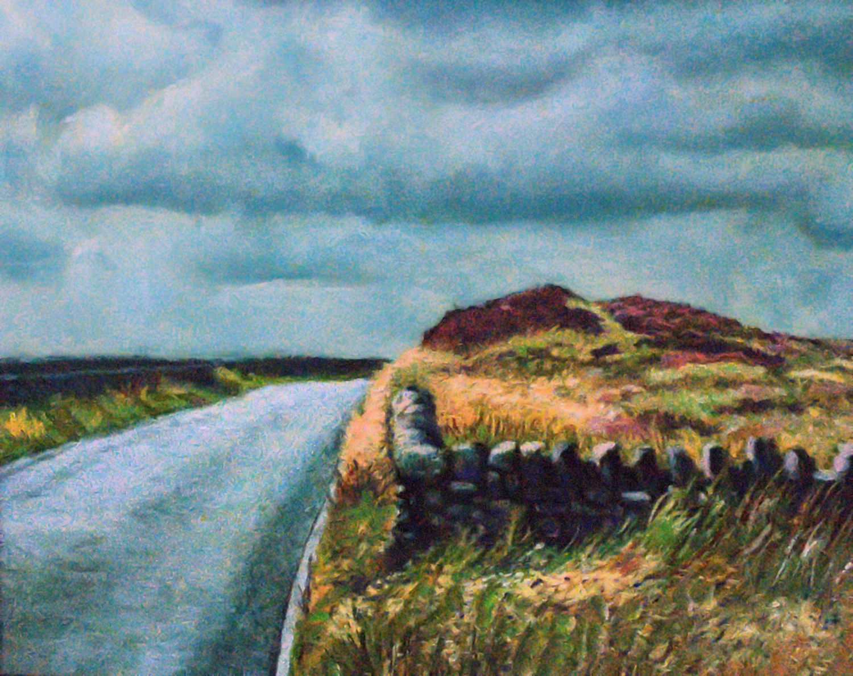 Moorland Drystone Wall