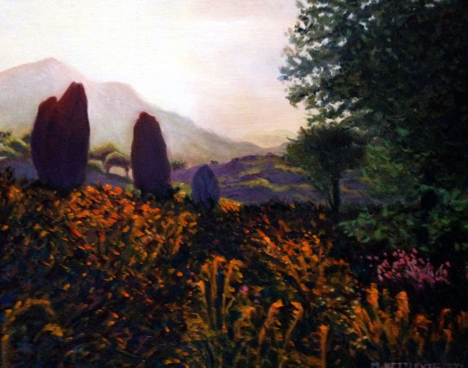 Menhirs At Dawn