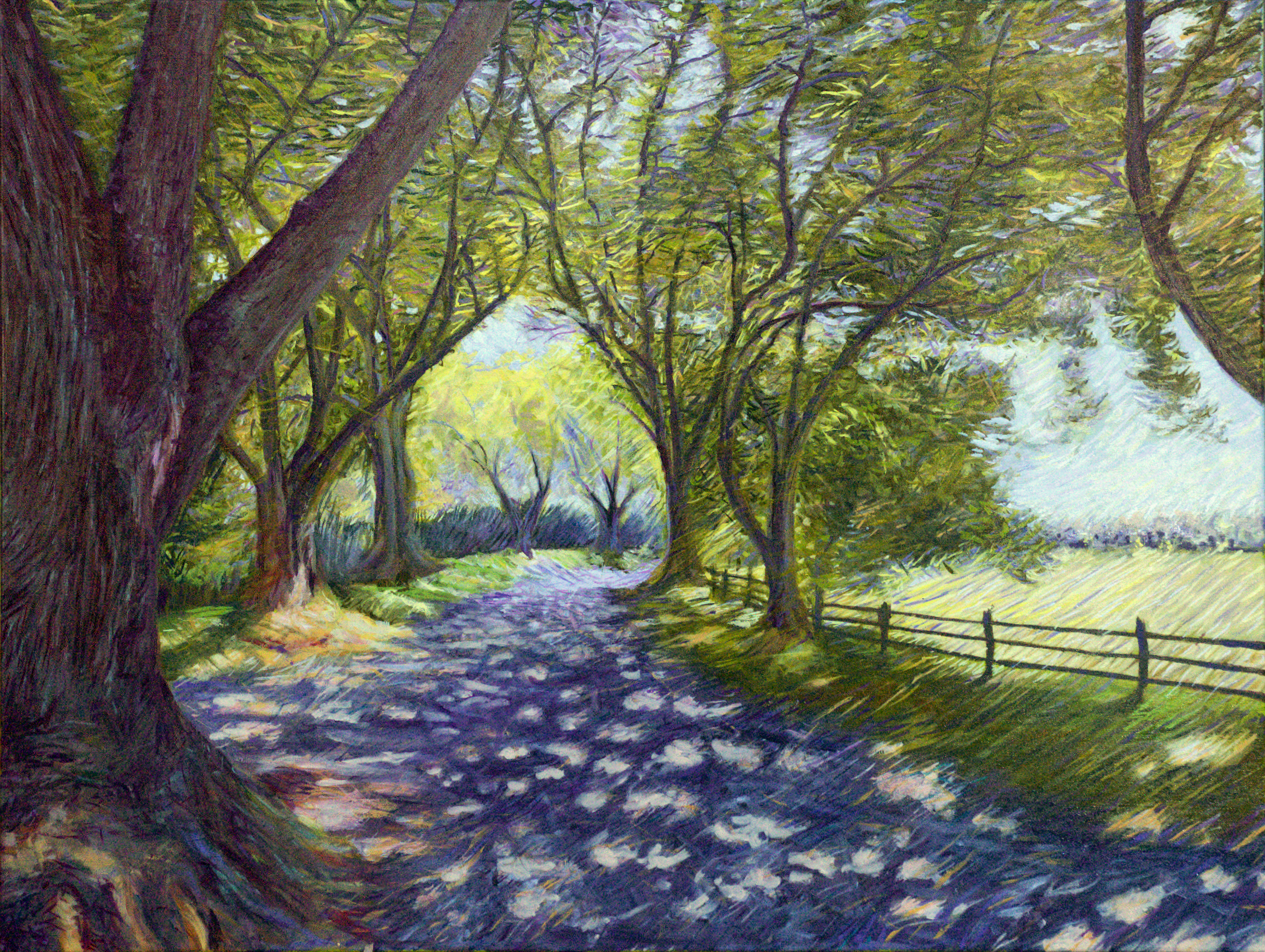 A Forested Avenue