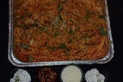Spaghetti Pomodoro with Ricotta
