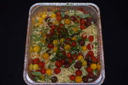 Linguini & Cherry Heirloom Tomatos