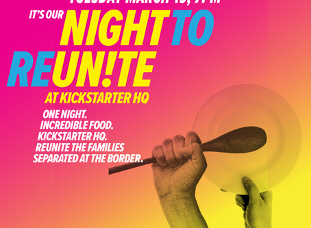 REUNITE TONIGHT - FUNDRAISER FOR FAMILIES AT THE BORDER