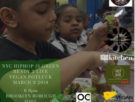Hip Hop Green Dinner with Brooklyn Youth and NYCHipHopIsGreen