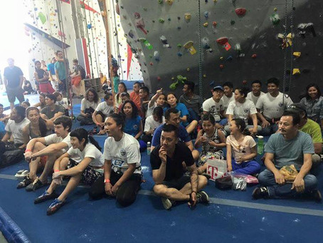 Everest Day Climbing Competition