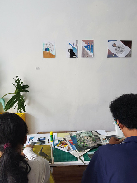 Collage and Zine Workshops