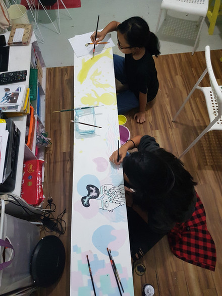 Painting Studio with Young Teens