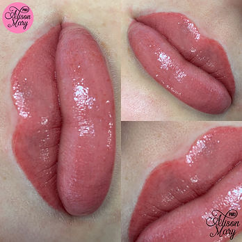 semi permanent lip blush tattoo norwich