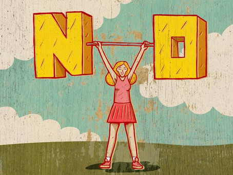 """How to say """"no"""" for your self-care"""