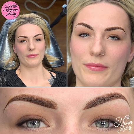 ombre powder tattoo brows norwich