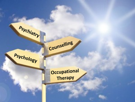OT versus Counselling for my Mental Health??