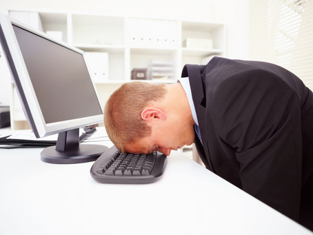 Stressed at work?