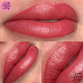 semi permanent lip blush lipstick norwic