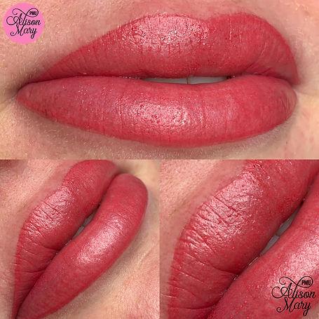 semi permanent lip blush lipstick norwich