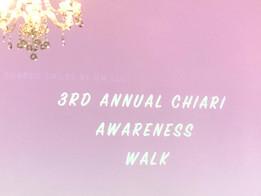 Chiari Awareness Walk
