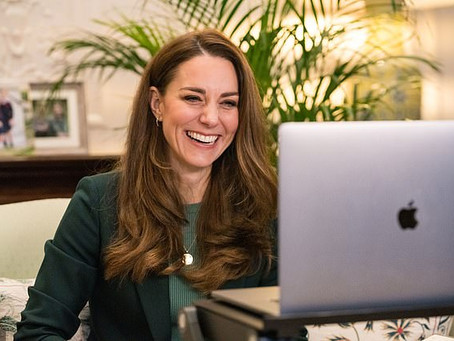 Duchess of Cambridge tapes message for Children's Mental Health Week