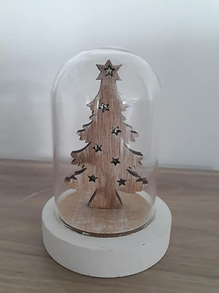 Globe sapin bois
