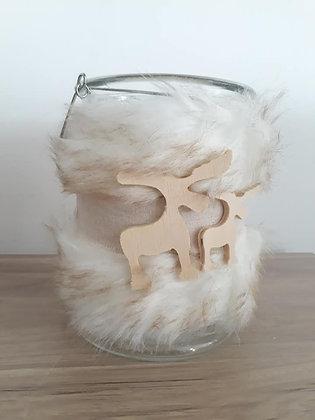 Photophore fourrure - Modèle médium