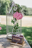 Location cage urne mariage