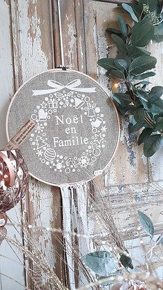 "Suspension ronde ""Noël en famille"""