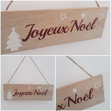"""Pancarte """"Joyeux Noël """""""